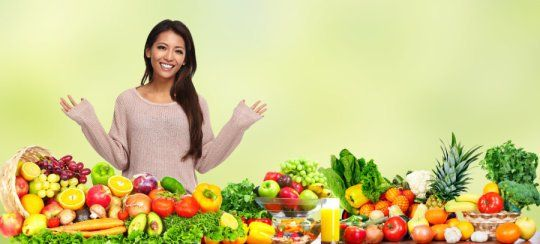 New research suggests up to eight-a-day servings of #fruits and #vegetables can make you happier. #plantslant #eatrealfood #bluezonesproject