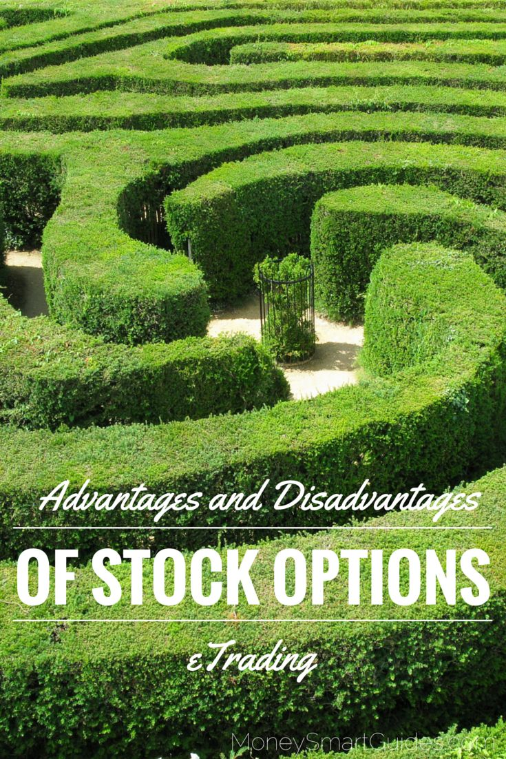 There's no doubt that stock options eTrading is a fun and profitable approach to investing. Still, if you're new to it, you're probably concerned about the advantages and disadvantages involved. Let's take a look at these now. http://www.moneysmartguides.com/the-advantages-and-disadvantages-of-stock-options-etrading
