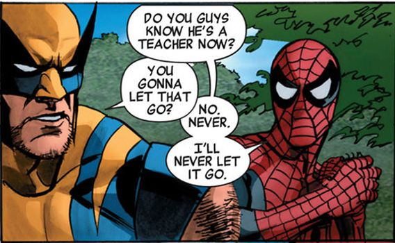 Wolverine and Spider-Man
