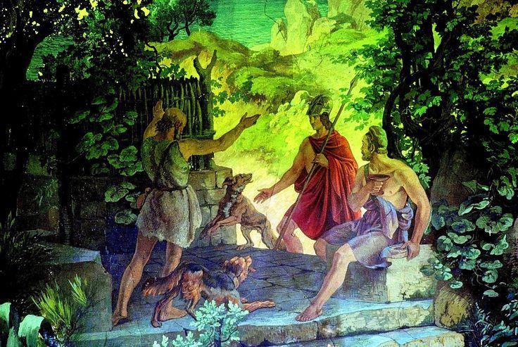 ΟΜΗΡΟΥ ΟΔΥΣΣΕΙΑ Π Αναγνώριση του Οδυσσέα από τον Τηλέμαχο (Ελένη Μουτάφη)