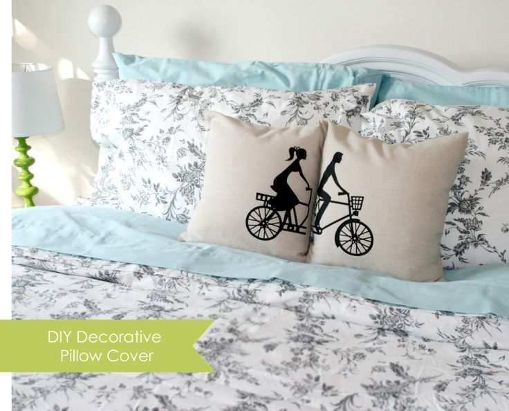 Silhouette Blog: Decorative Pillow Cover - Smooth Heat Transfer
