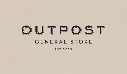 Knoed Creative: Outpost General Store Identity and Collateral
