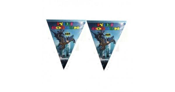 Batman FlamaBatman Flama Ürün ÖzellikleriÜrün Paketinde açıldığında 10 Adet Batman Bayrak bulunur.Kağıt Batman Flama Kaliteli baskı ve parlak renklidir.Batman temalı flamaların boyutu 2.3 m uzunluğundadır.Doğum Günü Partilerinde perdeye veya duvara asmak için kullanılır.  Batman Parti Malzem