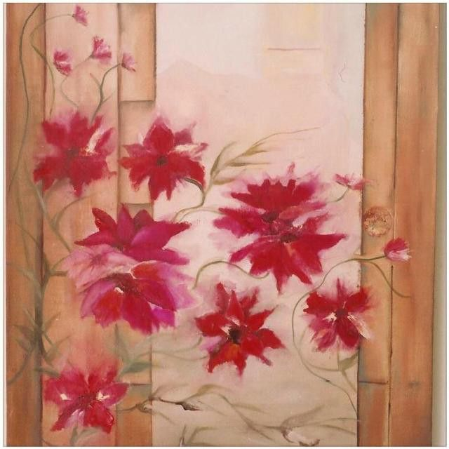 #flowers is one of the few #watercolors I have created. It is #available in many different forms. Please #contact us for more details and make sure to #follow us at @nadia_art_gallery.
