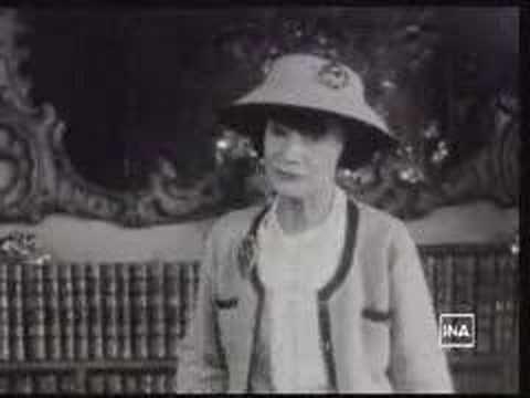 CHANEL: Coco Chanel parle de la mode - YouTube