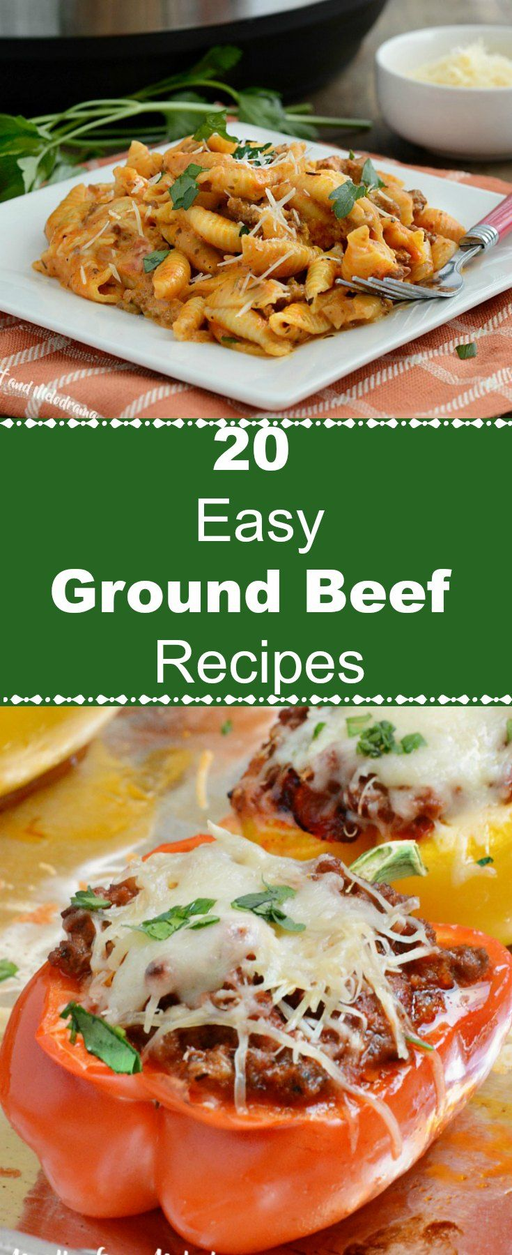 20 Easy Ground Beef Recipes - Meatloaf and Melodrama