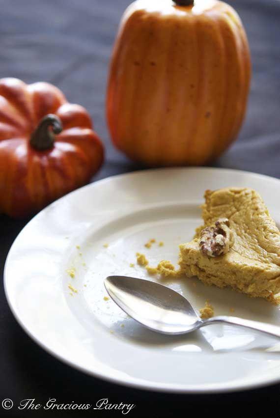 Clean Eating Pumpkin Cheesecake