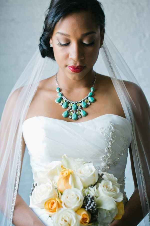 Teal, Yellow & Grey Wedding Inspiration| Photo by: Gricel's Photography