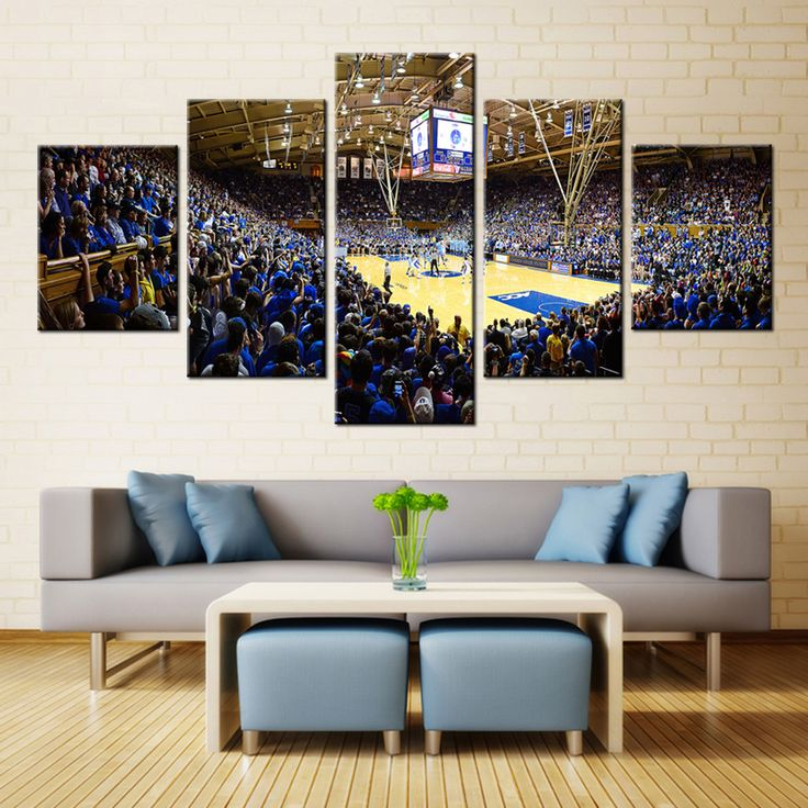 FORBEAUTY 5 Panel Canvas Printing Basketball Landscape Spray Painting Sports Poster Wall Home Decor Waterproof Pipe Packing outdoor living * AliExpress Affiliate's Pin. Click the image to view the details