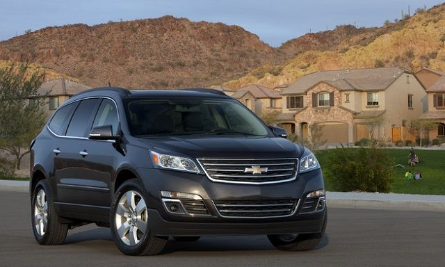The 2016 #Chevy Traverse Gets a Few Upgrades