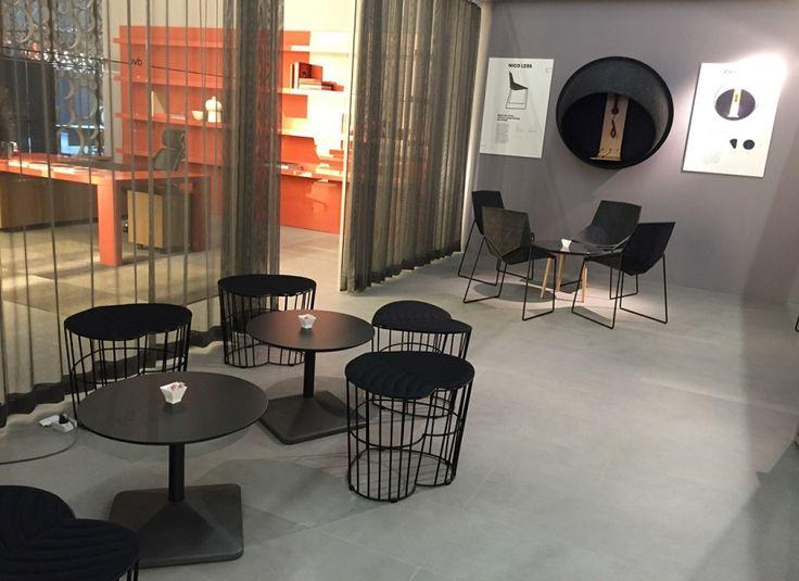 Orgatec 2016 (Colonia) - Nadura cemento #skema #italiandesign #nadura