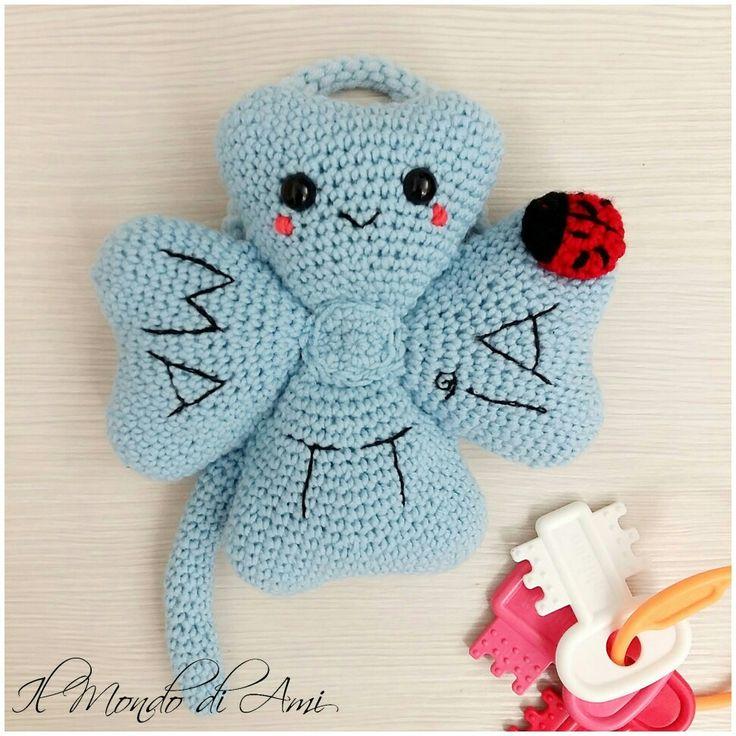 Per la culla o la cameretta o anche come fiocco nascita da appendere! 🍀🍀🍀🍀 #amigurumi #goodluck #quadrifoglio #fourleafclover #crochet #uncinetto #fattoamano #handmade #filato #baby #bimbi #newbabyborn