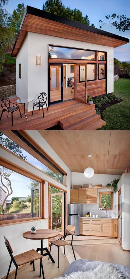 Building a Modern Mini Guesthouse at Your Backyard |
