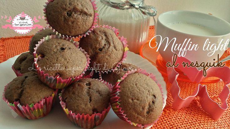 Muffin light al nesquik (87 calorie l'uno)