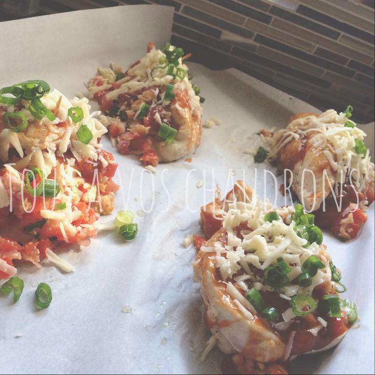 Tous à vos chaudrons...: Poulet bruschetta & Monterey Jack