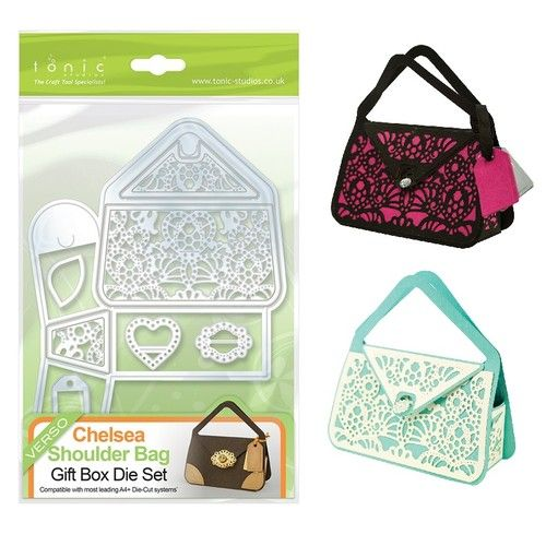 Handbag Favour Box / Crafts / Tonic Dies   Memory Crafts