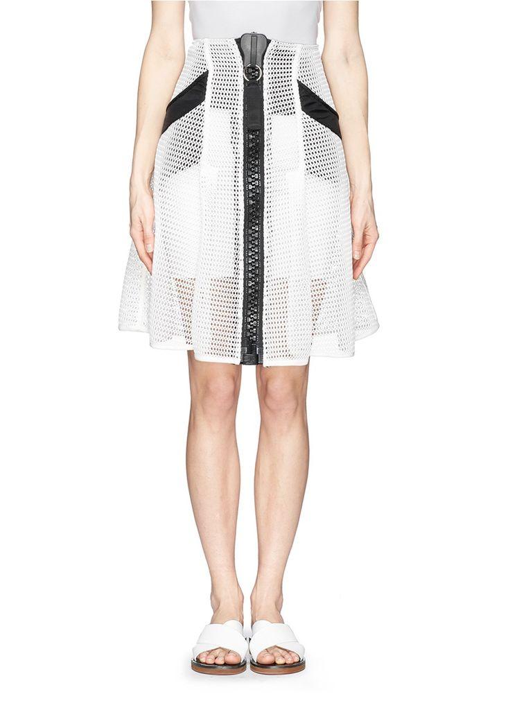 KTZ Oversize zip mesh skirt