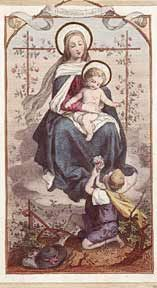 The actual author of the Memorare is unknown. It has been traditionally attributed to the abbot St. Bernard of Clairvaux from the 12th century. Mary's wonderful role in assisting in our salvation has been praised by many Saints and Church fathers alike over the centuries.