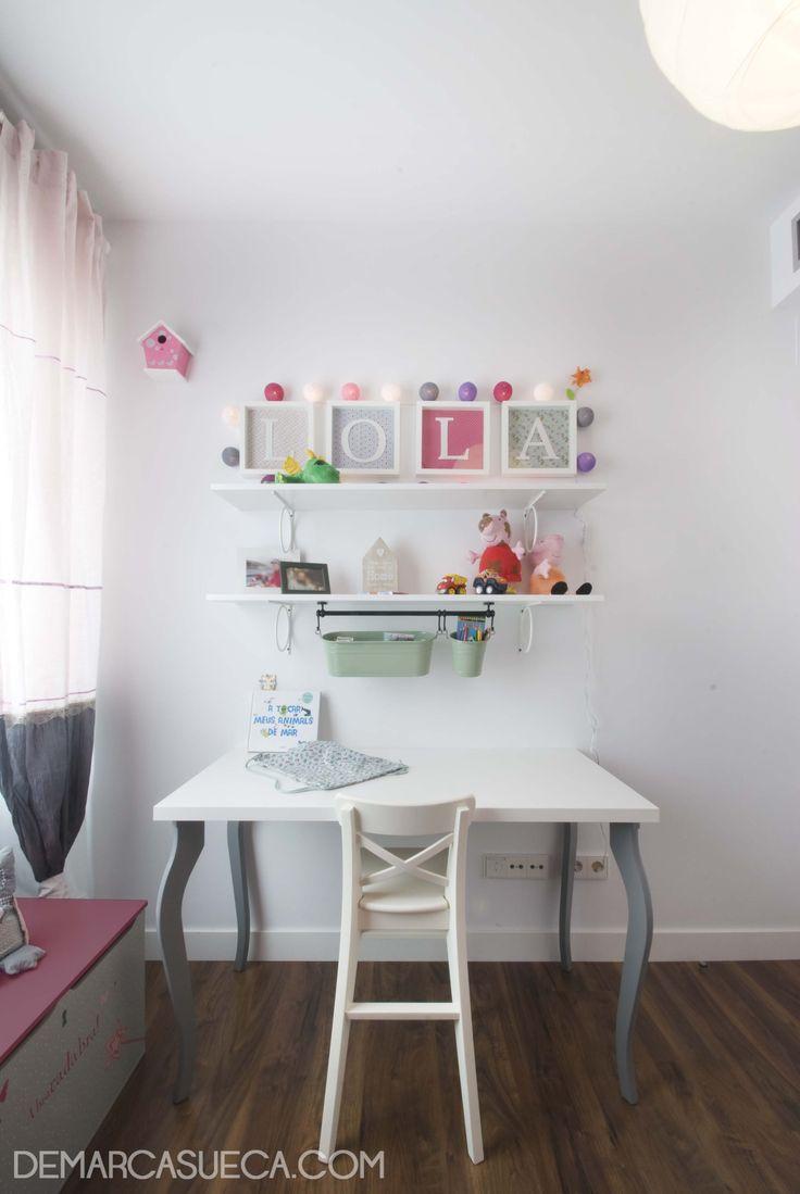 Habitaci n infantil con mobiliario ingolf de ikea y de for Mobiliario diseno oficina