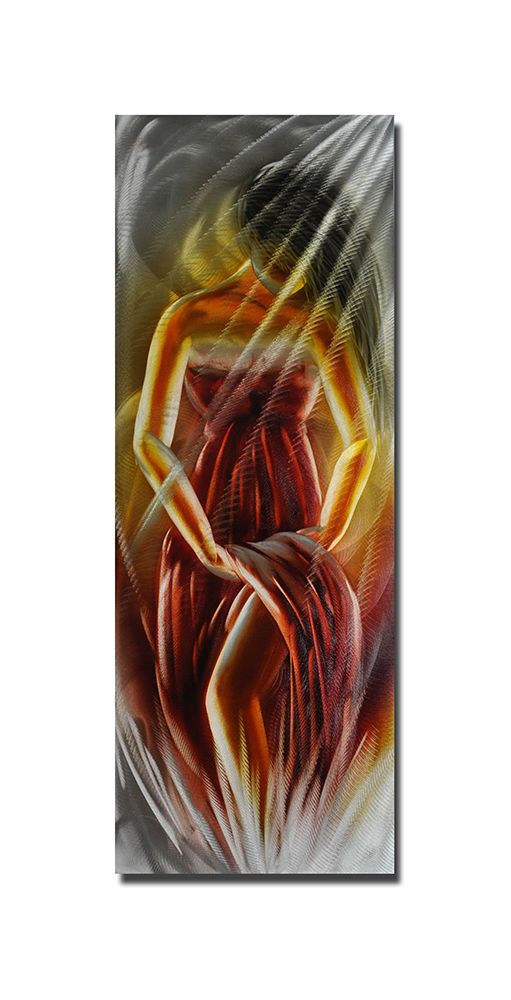 Lady in Red Modern Wall Panel