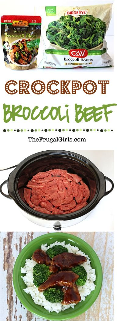 Crock Pot Broccoli Beef Recipe! ~ from TheFrugalGirls.com ~ Skip the takeout and give your dinner a delicious makeover!  Just 4 ingredients and you've got a homemade restaurant classic asian inspired Crockpot Dinner! #slowcooker #recipes #thefrugalgirls