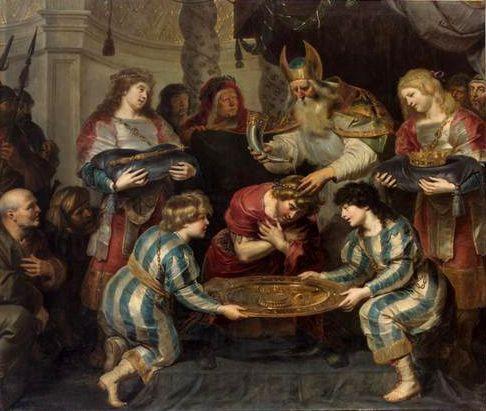 Salbung Salomos - Cornelis de Vos