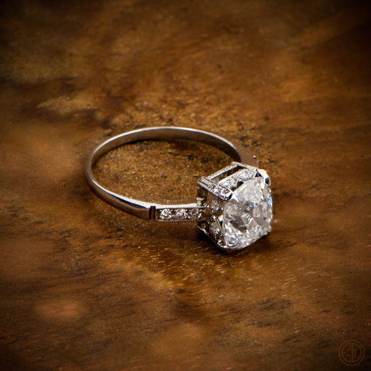 11 best Vintage Engagement Rings images on Pinterest Diamond