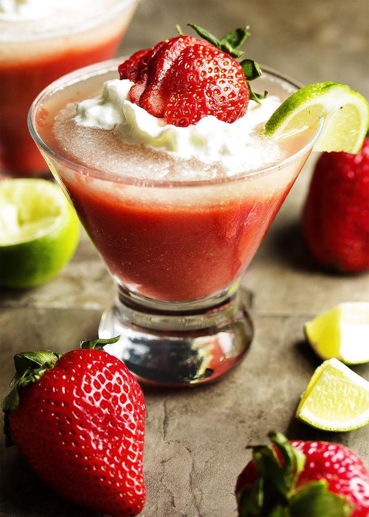 Strawberry lime daiquiri