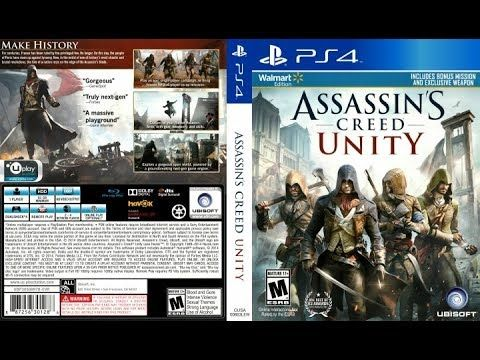 Assassins Creed Unity | ps4 jailbreak pkg Download(Gdrive
