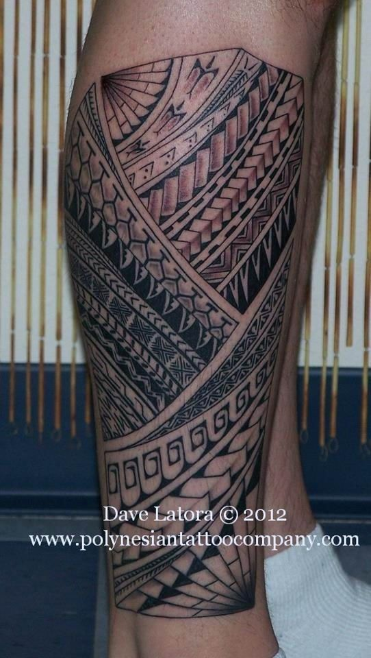 Best 25 Polynesian leg tattoo ideas on Pinterest