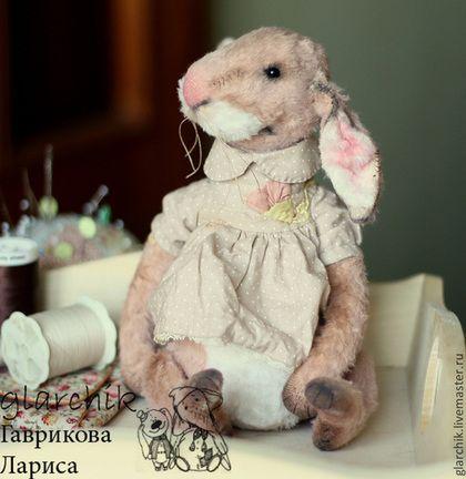 крольчиха Суви - кролик,заяц,игрушка ручной работы,игрушка,авторская ручная работа