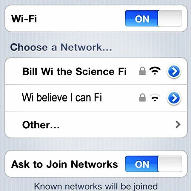 top wifi names