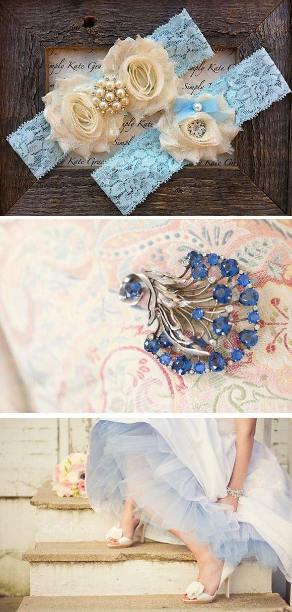 Algo azul en tu boda – Inspiración