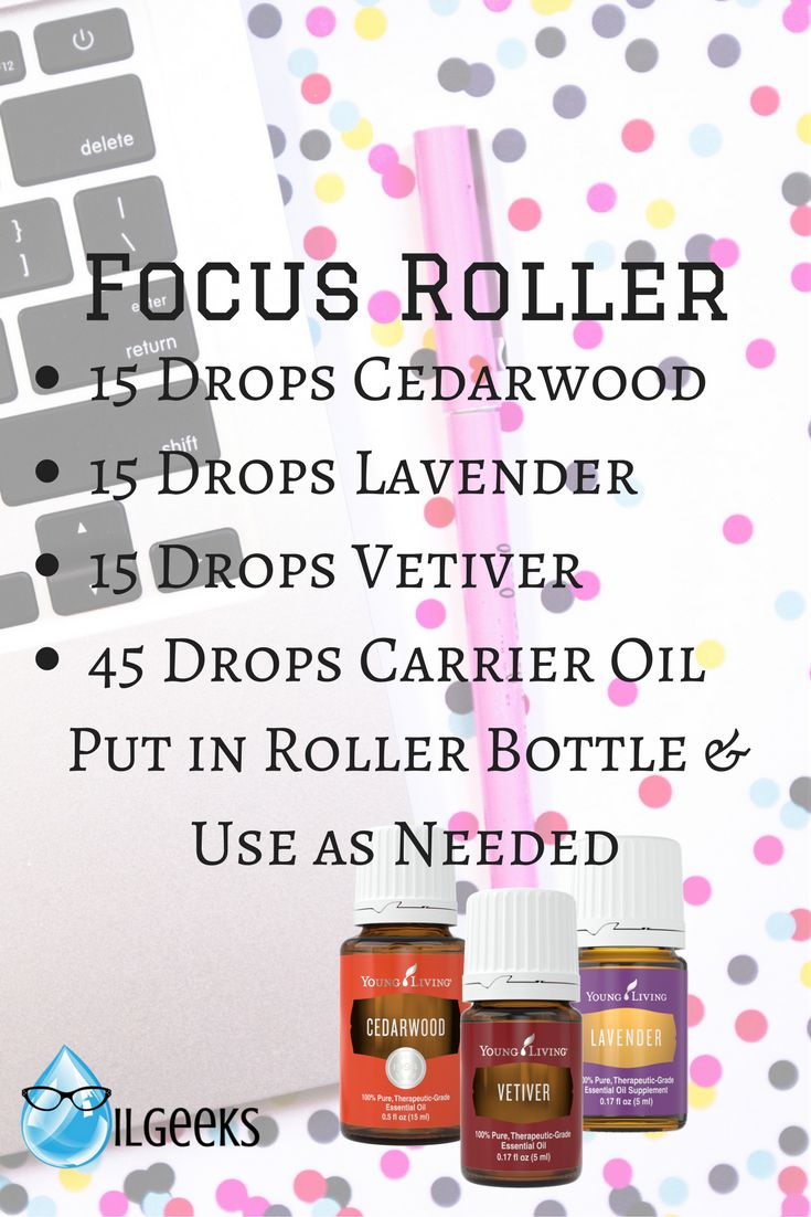 Young Living Essential Oils- Focus Roller Blendi