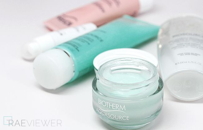 The RAEviewer - A blog about luxury and high-end cosmetics: Biotherm White D-Tox, Biosource, and Aquasource Skin Care Reviews + GIVEAWAY