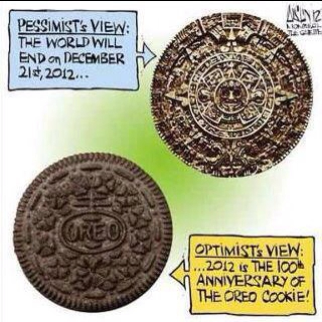 The end of the world or the 100th anniversary of the oreo?: Random Funny, Funny Pictures, Funnypictures, Anniversaries, Funny Stuff, Humor, Oreo Cookies, Calendar, Birthday Cakes