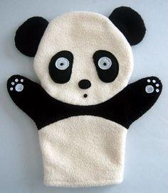 Panda Hand-Puppet (900801) - China plush toy, panda gift   Made-in-China.com Mobile