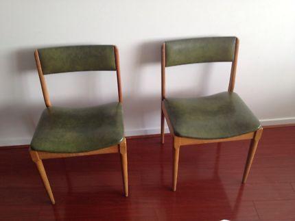 John Grimes green dining chairs x2 | Dining Chairs | Gumtree Australia Darebin Area - Preston | 1132890519