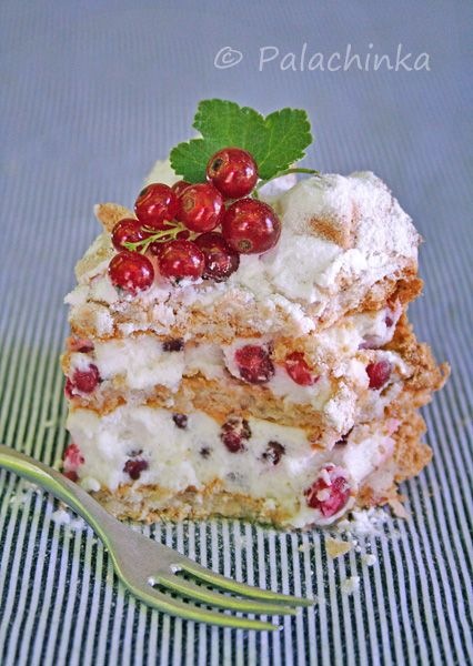 Heavenly Red Currant Cake