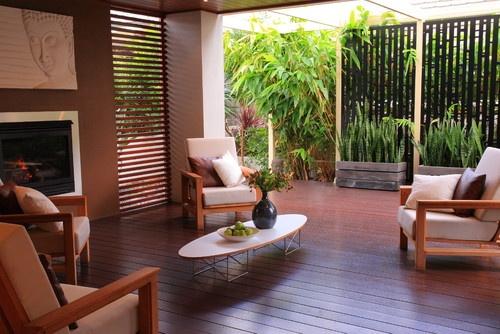 Bali Style Retreat - asian - patio - sydney - ecodesign Pty Ltd