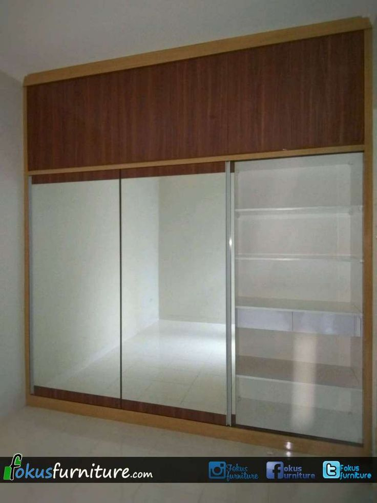 Lemari 3 pintu geser Cimanggu Bogor