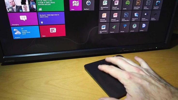 Logitech T650 Touchpad With Windows 8 Review