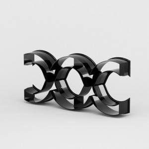 La genesi della stampa 3D nel mondo della pasticceria.  Cutter modellato e stampato in 3D da noi! Creato appositamente per il Campione Italiano di Pasticceria 2015, Lorenzo Puca!
