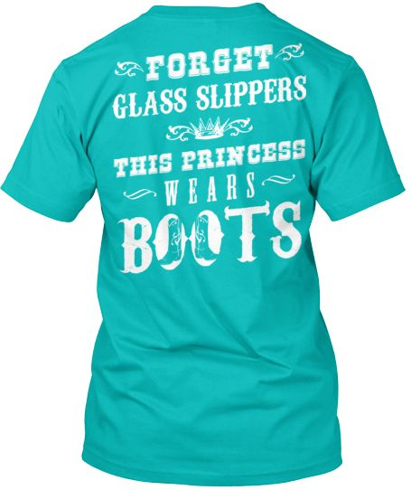 Who else is a princess that wears boots? Shirt available now at http://cutencountrystore.com/collections/deep-v-necks/products/princess-wears-boots-v-neck