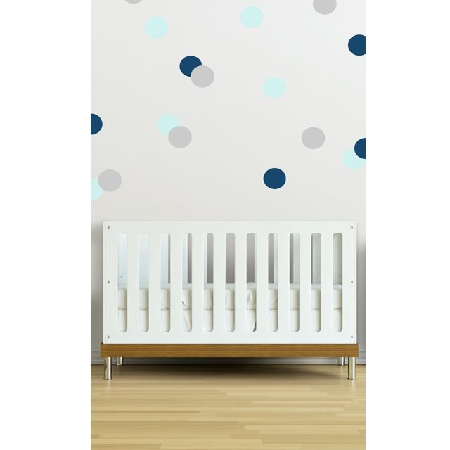 Create a fun accent wall with these Confetti Wall Decals - exclusive to #PNshop!