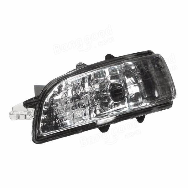 Left Rear View Mirror Lamp Indicator Light Side Turn Signal Lens For VOLVO S40 S60 S80 Sale - Banggood.com