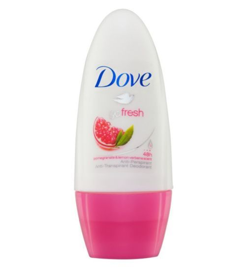 Dove Go Fresh Pomegranate and Lemon Verbena Anti-Perspirant Deodorant Roll-On - Boots