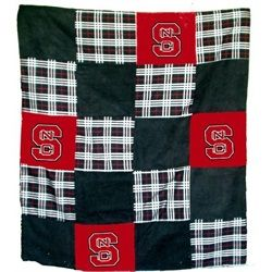 NCSU NC State Wolfpack Patchwork Quilt Blanket Part 82