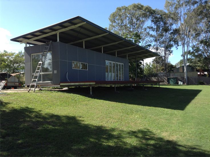 Gallery shipping container homes modular homes small spaces pinterest - Bithcin shipping container house ii ...