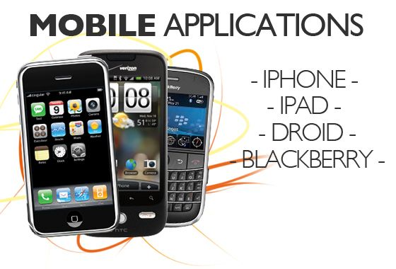 Mobile Applications on various platforms #android #iphone #blackberry